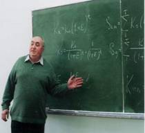 Professor Solodovnyk L.M. is delivering the lecture