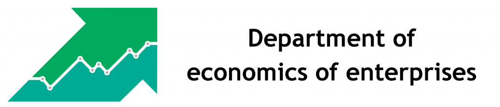 Department of economics of enterprises